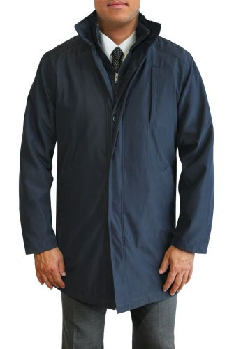 Daniel Hechter All Weather Raincoat with Polar Fleece Liner to Size 60