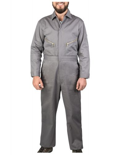 100% Cotton Coveralls - Short or Long Sleeve