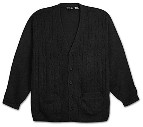 Cable Stitch Sleeveless Cardigan to 6XB and 6XT