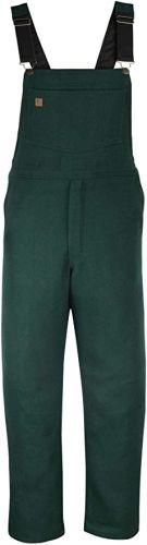 Wool Hunting, Shooting, Outdoor Bib Overall to Size 5X in Green