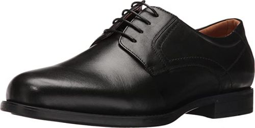 Regal Dress and Business Plain Toe Oxford Shoe in Widths to 5E