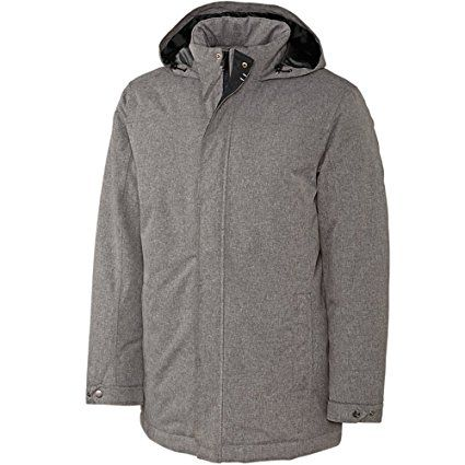 Soft Touch Waterproof Herringbone Jacket by Cutter and Buck