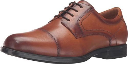 Regal Dress and Business Cap Toe Oxford Shoe in Widths to 5E