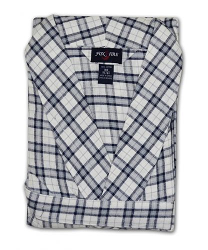 Flannel Plaid Robe to 8X and 6XT