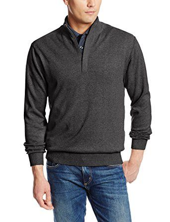 Highlands Cotton Half Zip by Cutter and Buck