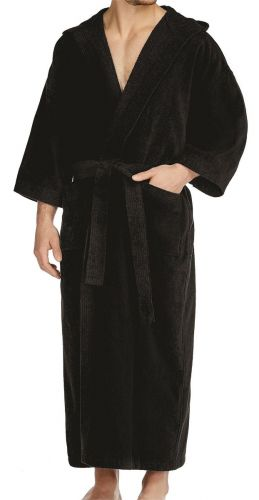 Big and Tall Hooded Terry Velour Robe to Size 5XT and 6XB