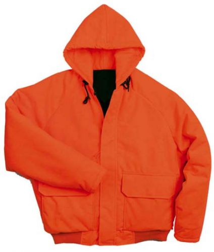 Blaze Orange Insulated Parka