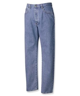 Luxury Long Rise Tall Man Jeans by Cutter and Buck