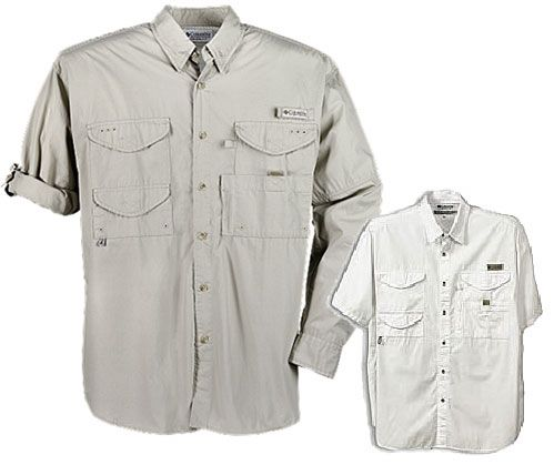 Columbia Ultra Lite Cotton Poplin Shirt