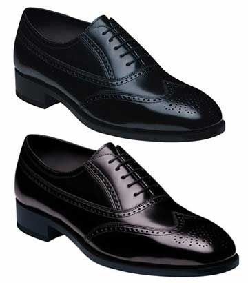 Florsheim Leather Sole Wing Tip Shoe