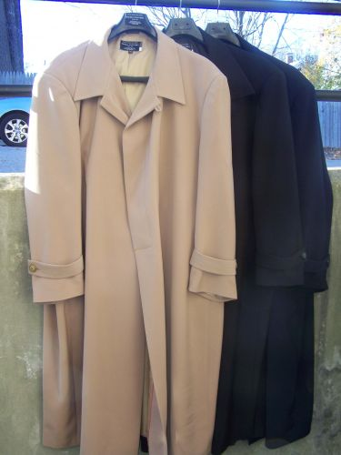 Fashion Gabardine Coat to Size 76