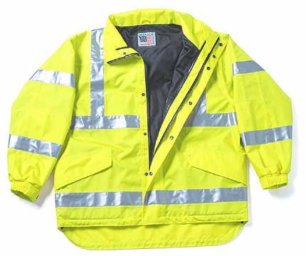 High Visibility Multi-Use Waterproof Jacket