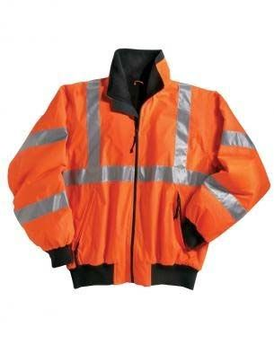 Hi Vis Fleece Lined Jacket