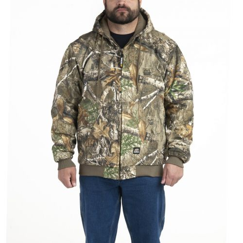 Insulated Hooded Camo Hunting Jacket to 8X