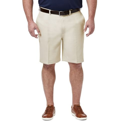 Haggar Flat Front Comfort Extender Shorts to Size 60