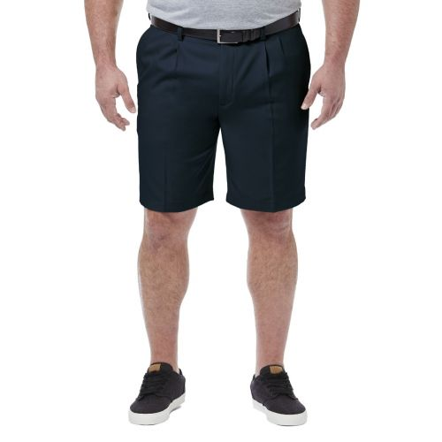 Haggar Pleated Comfort Extender Shorts to Size 60