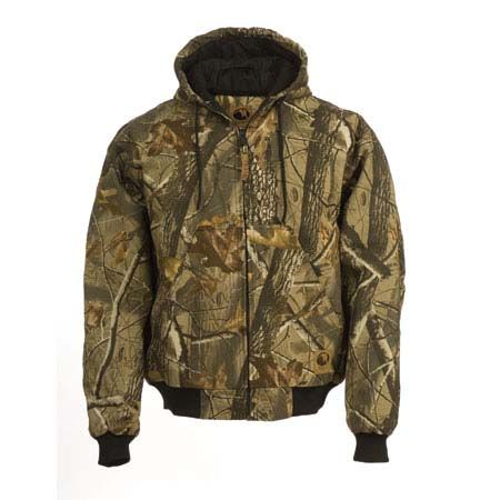 Insulated Hooded Hunting Jacket