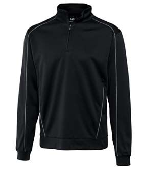 Long Sleeve Dry Tec 1/2 Zip Shirt by Cutter and Buck