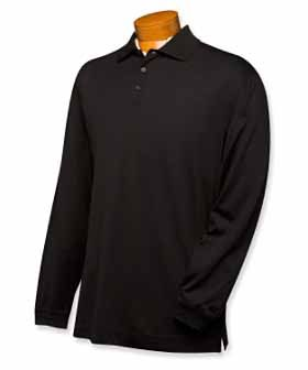Long Sleeve Moisture Wicking Championship Polo by Cutter and Buck