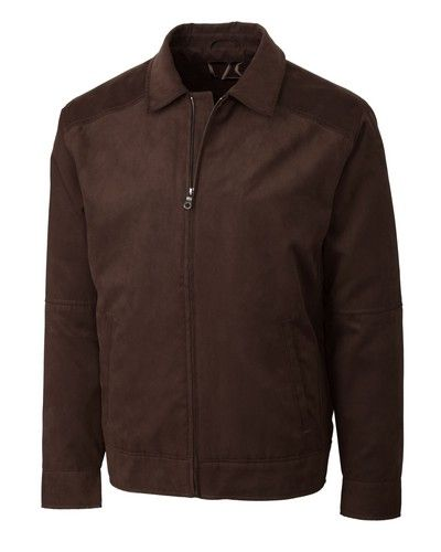 Microsuede Bomber by Cutter & Buck