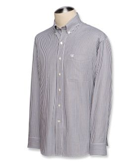 Mini Bengal Stripe Poplin Shirt by Cutter and Buck
