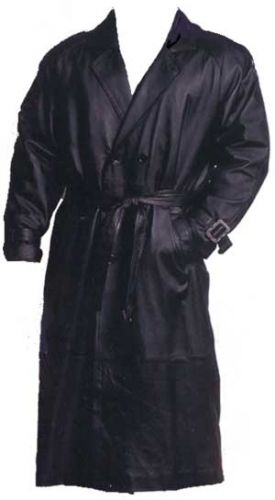 Leather Nappa Trench