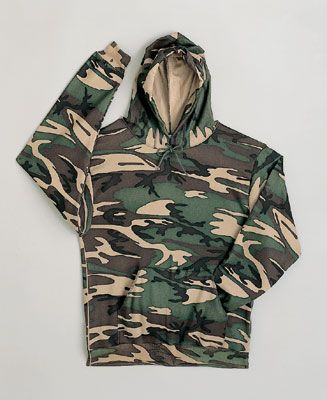 Pullover Camo Sweats To 10X Tall