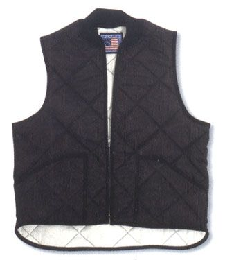 Quilted Hollofil Vest