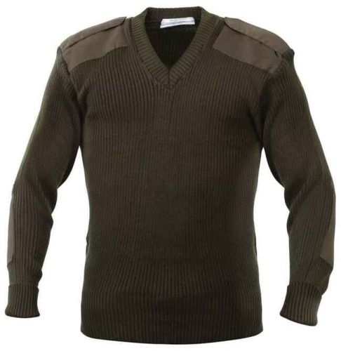 Commando Sweater to Size 6XB in Black, Olive, and Navy