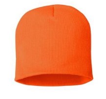 Supersized Blaze Orange Winter Hat