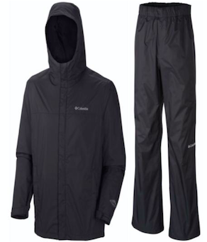 Columbia Waterproof Jacket & Pant Set