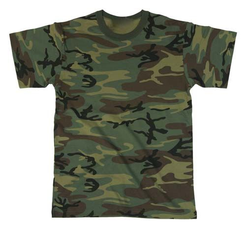 Short Sleeve Camo T-Shirts