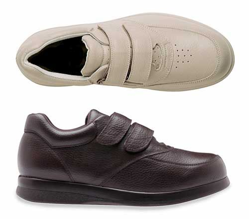 Soft Therapeutic Velcro Shoe - D,EE,EEE,EEEEE