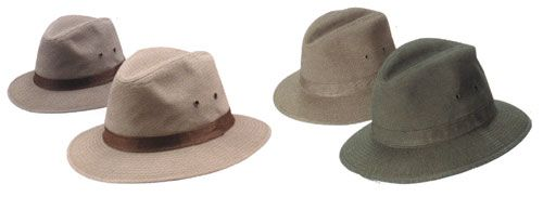 Crushable Twill Hats