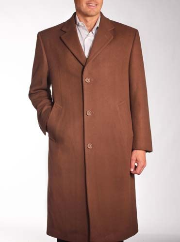 Wool Cashmere Blend Topcoat
