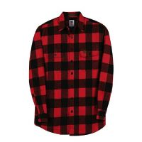 USA Made Heavyweight Brawny Flannel Shirt to 5XB and 5XT in 5 Colors