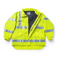 High Visibility Multi-Use Waterproof Jacket to 7X Big