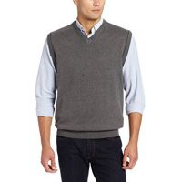 Highlands Cotton Vest by Cutter and Buck