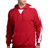 Contrast Panel Soft Fleece