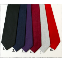 Extra Long Big and Tall Solid Ties