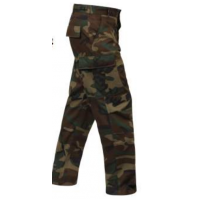 Military BDU Pant to 8X in Camo or Black